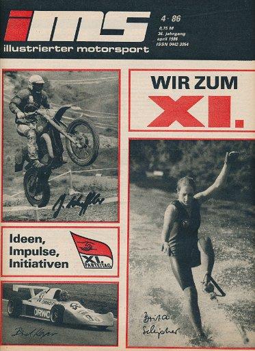 Illustrierter Motorsport 4/1986  DDR-Zeitschrift
