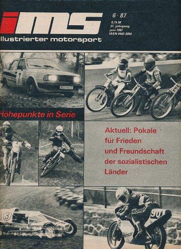 Illustrierter Motorsport 6/1987  DDR-Zeitschrift