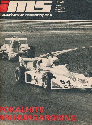 Illustrierter Motorsport 7/1986  DDR-Zeitschrift
