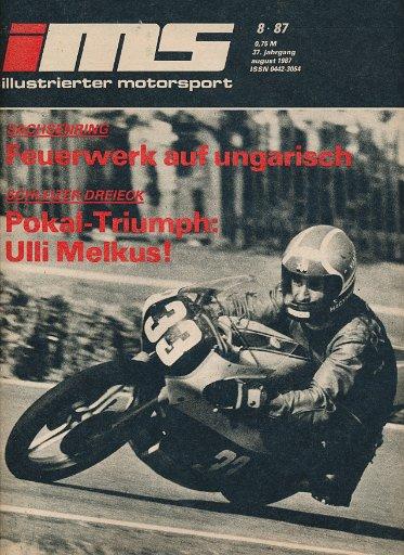 Illustrierter Motorsport 8/1987  DDR-Zeitschrift