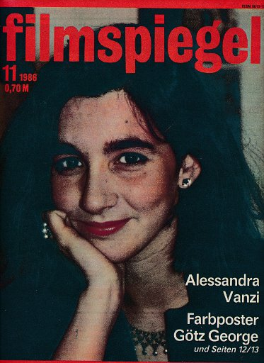Filmspiegel Nr.11/1986  DDR-Zeitschrift