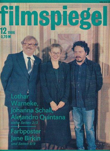 Filmspiegel Nr.12/1986  DDR-Zeitschrift