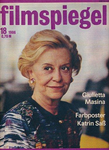 Filmspiegel Nr.18/1986  DDR-Zeitschrift