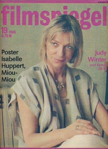 Filmspiegel Nr.19/1986  DDR-Zeitschrift