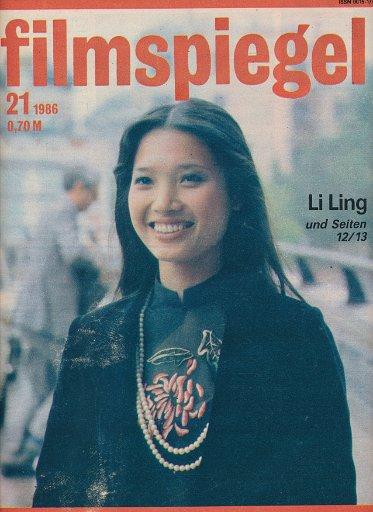 Filmspiegel Nr.21/1986  DDR-Zeitschrift