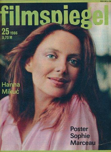 Filmspiegel Nr.25/1986  DDR-Zeitschrift