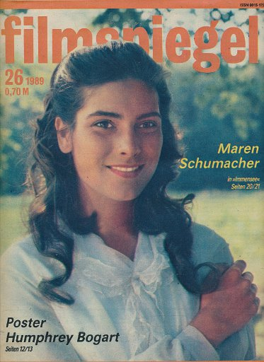 Filmspiegel Nr.26/1989  DDR-Zeitschrift
