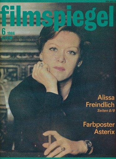 Filmspiegel Nr.6/1986  DDR-Zeitschrift