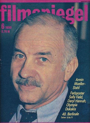 Filmspiegel Nr.6/1990  DDR-Zeitschrift