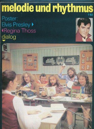 Melodie und Rhythmus Nr.1/1982  DDR-Zeitschrift