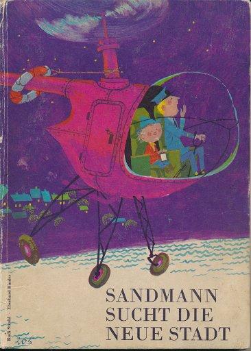 Sandmann sucht die neue Stadt  DDR-Buch
