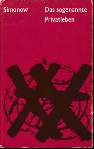 Das sogenannte Privatleben  DDR-Buch