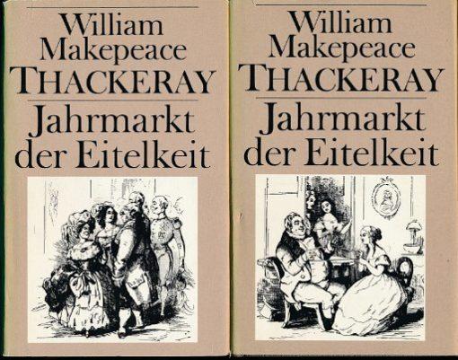 Jahrmarkt der Eitelkeit  Band 1 und 2   DDR-Buch