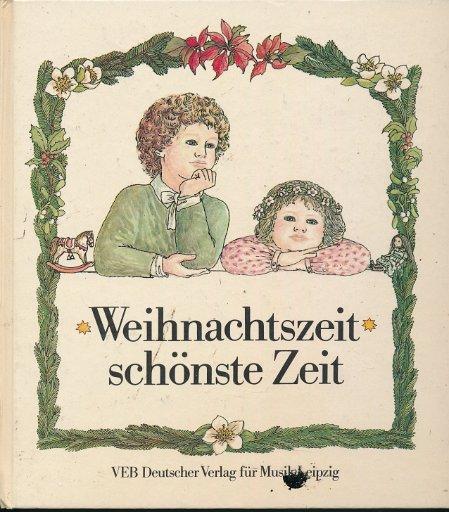 Weihnachtszeit schönste Zeit  DDR-Buch