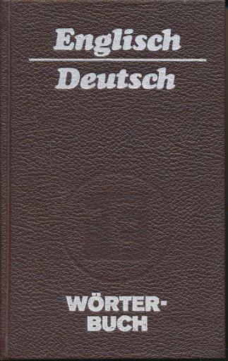 Englisch – Deutsch Wörterbuch  DDR-Buch