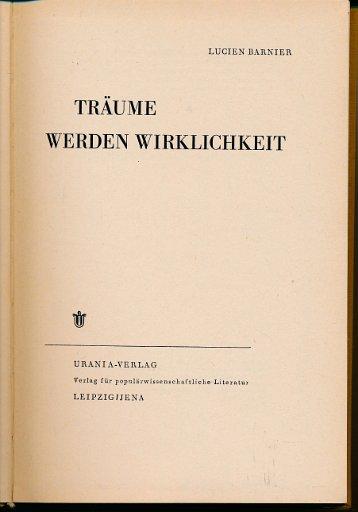 Träume werden Wirklichkeit  DDR-Buch