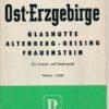 Ost-Erzgebirge  DDR-Wanderkarte