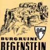 Kleiner Burgführer Burgruine Regenstein  DDR-Heft