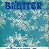 Blumen – Blätter – Bäume  DDR-Buch