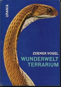 Wunderwelt Terrarium  DDR-Buch
