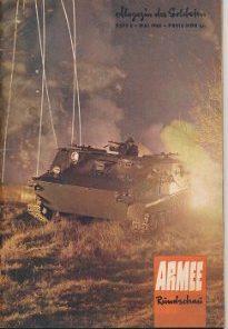 Armee-Rundschau Heft 12/1964; 5, 7/1965; 4/1966  DDR-Magazin