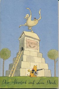 Der Akrobat auf dem Dach  DDR-Buch