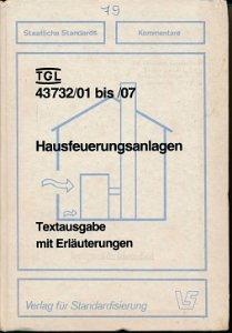 Hausfeuerungsanlagen  DDR-Buch