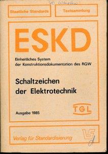Schaltzeichen der Elektrotechnik  DDR-Buch
