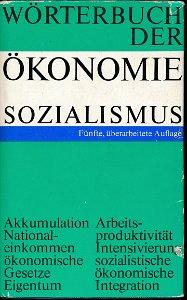 Wörterbuch der Ökonomie – Sozialismus  DDR-Buch