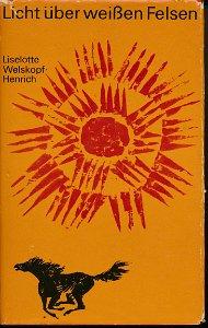 Licht über weißen Felsen  DDR-Buch