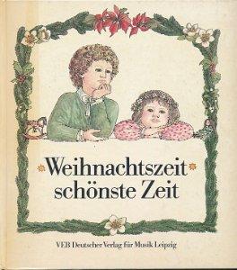 Weihnachtszeit - schönste Zeit  DDR-Buch