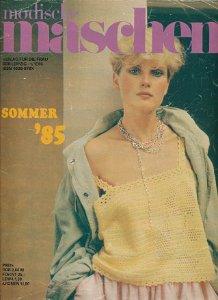 Modische Maschen 1-3/1985  DDR-Zeitschrift