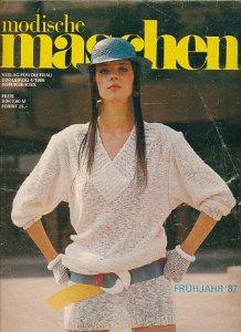 Modische Maschen 1,3 und 4/1986  DDR-Zeitschrift