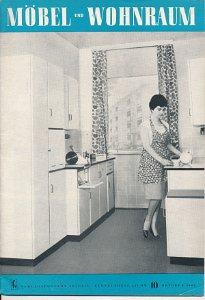 Möbel und Wohnraum 10/1962  DDR-Fachzeitschrift