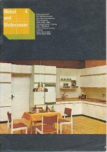 Möbel und Wohnraum 4/1983  DDR-Fachzeitschrift