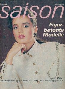 Saison 2/1987 Herbst  DDR-Zeitschrift