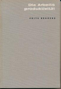 Die Arbeitsproduktivität  DDR-Buch