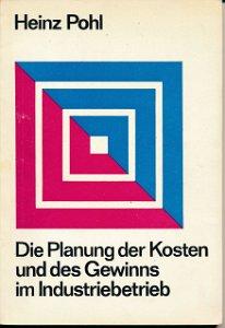 Die Planung der Kosten und des Gewinns im Industriebetrieb  DDR-Buch