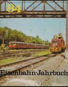 Eisenbahn-Jahrbuch 1984  DDR-Buch
