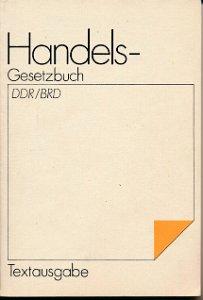 Handelsgesetzbuch DDR / BRD  DDR-Buch