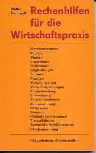 Rechenhilfen für die Wirtschaftspraxis  DDR-Buch