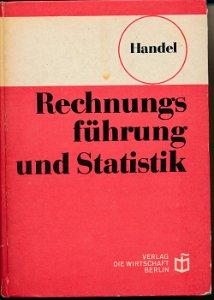 Rechnungsführung und Statistik im Handel  DDR-berufsbildende Literatur