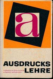 Ausdruckslehre  DDR-Fachschullehrbuch