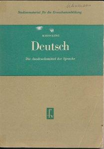 Deutsch – Die Ausdrucksmittel der Sprache  DDR-Studienmaterial