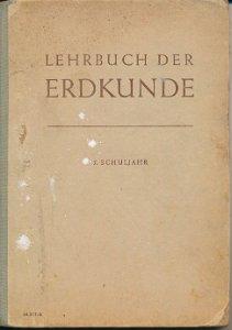 Lehrbuch der Erdkunde für das 5. Schuljahr  DDR-Buch