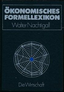 Ökonomisches Formellexikon  DDR-Buch