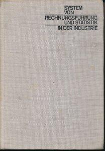 System von Rechnungsführung und Statistik in der Industrie Teil 1  DDR-Lehrbuch