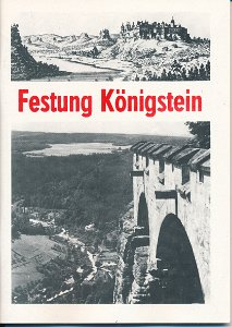 Festung Königstein  DDR-Heft