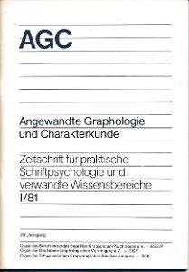 Angewandte Graphologie und Charakterkunde I / 81