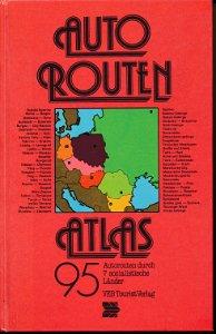 Autoroutenatlas  DDR-Buch